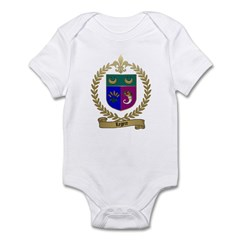 LEGERE Acadian Crest Infant Creeper