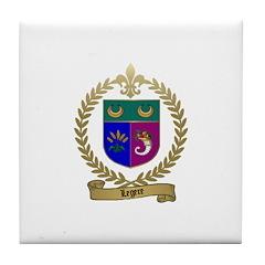 LEGERE Acadian Crest Tile Coaster