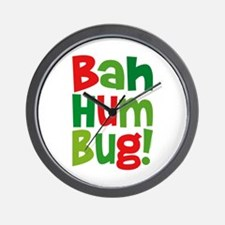 Bah Humbug Wall Clock
