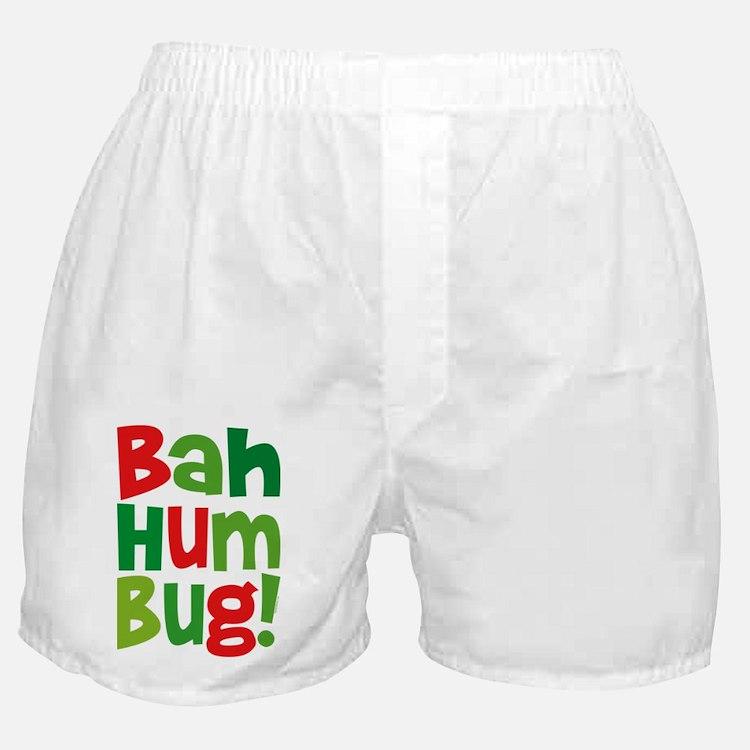 Bah Humbug Boxer Shorts