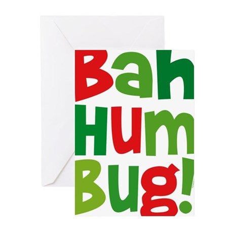 Bah Humbug Greeting Cards (Pk of 10)
