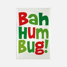 Bah Humbug Rectangle Magnet