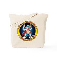 Captain Thunderbolt! Tote Bag