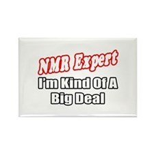 """NMR Expert..Big Deal"" Rectangle Magnet"