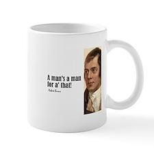 "Burns ""Man's a Man"" Mug"