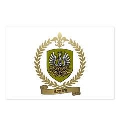 LEGRAND Family Crest Postcards (Package of 8)