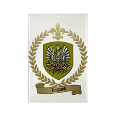 LEGRAND Family Crest Rectangle Magnet
