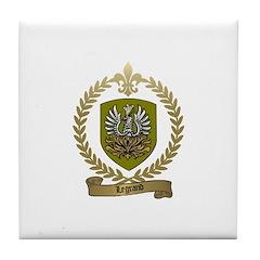 LEGRAND Family Crest Tile Coaster