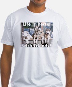 Cute Dogs are friends Shirt