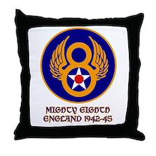 Cute 8th army Throw Pillow