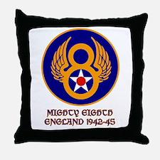 Cute Air corps Throw Pillow