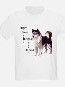 Husky dog Crossword T-Shirt