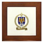 LEGROS Family Crest Framed Tile