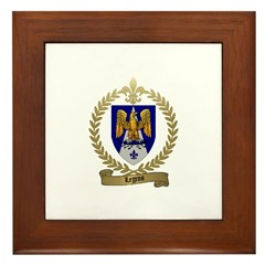 LEGROS Family Crest Framed Tile