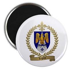 LEGROS Family Crest Magnet