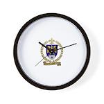LEGROS Family Crest Wall Clock