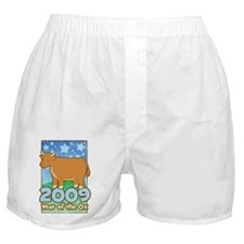 2009 Kids Year of Ox Boxer Shorts