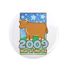 """2009 Kids Year of Ox 3.5"""" Button"""