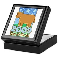 2009 Kids Year of Ox Keepsake Box