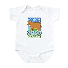 2009 Kids Year of Ox Infant Bodysuit