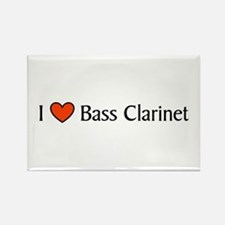 Bass Clarinet Gift Rectangle Magnet
