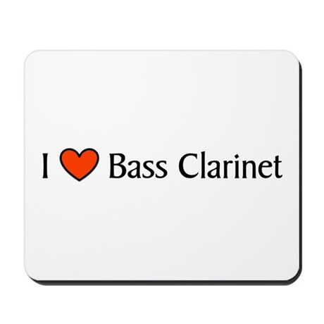 Bass Clarinet Gift Mousepad