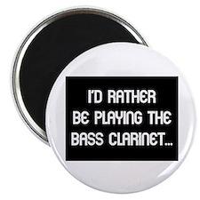 Bass Clarinet Gift Magnet