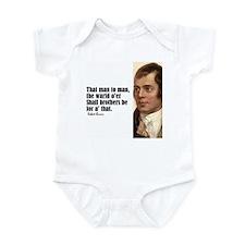 "Burns ""Brothers Be"" Infant Bodysuit"