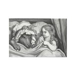 Dore's Red Riding Hood Rectangle Magnet (10 pack)