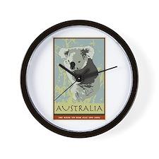 Australia I Wall Clock