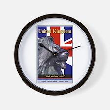 United Kingdom Wall Clock
