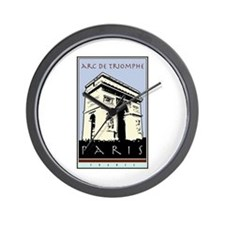 Paris, Arc de Triomphe Wall Clock