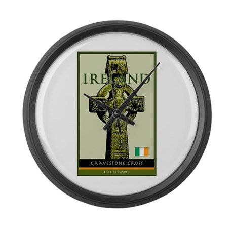 Ireland Large Wall Clock