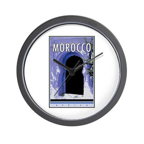Morocco Wall Clock