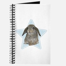 Baby bunny (blue) Journal