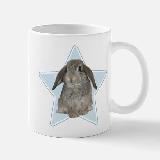 Baby bunny (blue) Mug