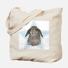Baby bunny (blue) Tote Bag