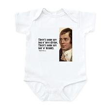 "Burns ""Some Are Fou"" Infant Bodysuit"