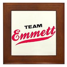 Team Emmett Twilight Framed Tile