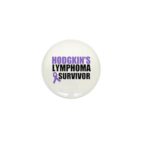 Hodgkin's Disease Survivor Mini Button (10 pack)