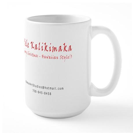Christmas ~ Hawaiian Style Large Mug
