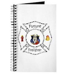 Future Firefighter Dalmatian Journal