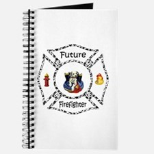 Future Firefighter Dalmatian Journal
