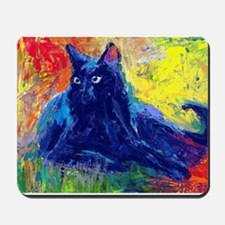 Black Cat 6 Mousepad