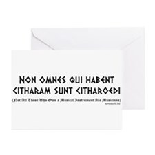 Non omnes Greeting Cards (Pk of 10)