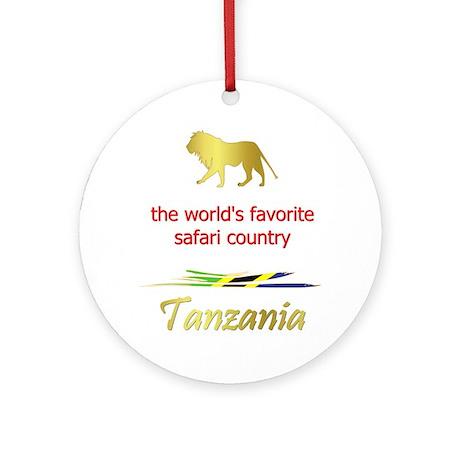 Favorite Safari Country Ornament (Round)