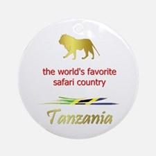 Favorite Safari Country Ornament (Round)