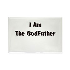 The Godfather Rectangle Magnet