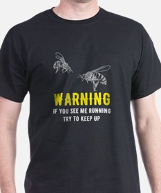 Funny If you see me running T-Shirt