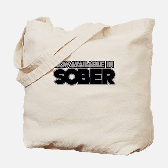 Available in sober Tote Bag